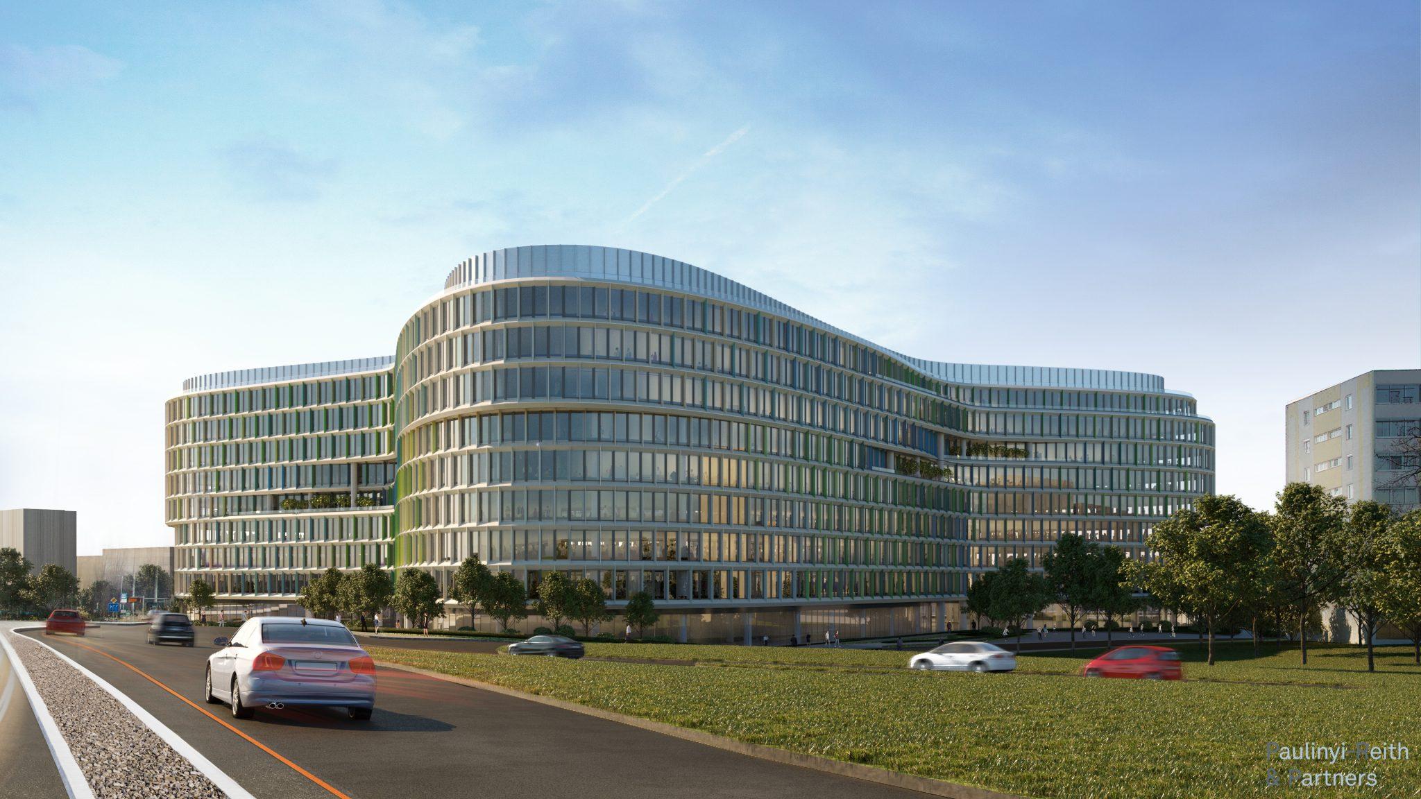 A dolgozók egészségét és közérzetét is javítják a hazai irodaházak