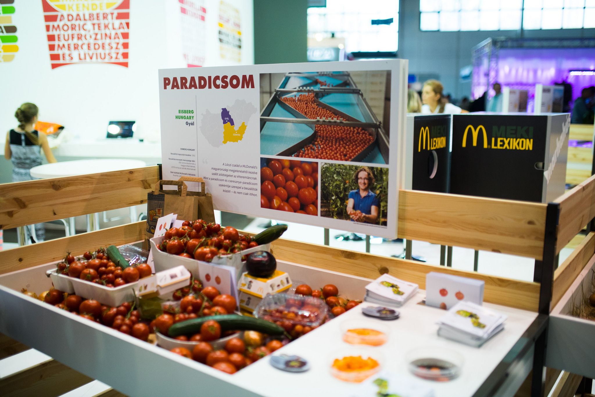 A McDonald's hazai termelői, nemzetközi piacokon